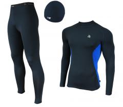 Женский спортивный костюм для бега Radical Intensive черно-синий