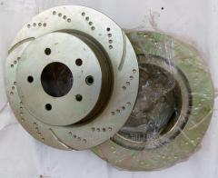 Brake disks back Infinitis GD7121