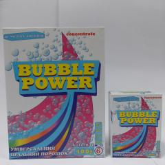 BUBBLE POWER universal laundry detergent 200g.