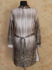Tunic dress with a corbel 5410