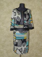Платье с геометрическим рисунком, арт. 5754