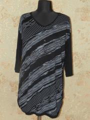 Туника женская черная, арт. 5685