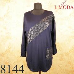Tunic with knitted with an ornament 6101