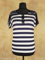 T-shirt women's striped 6180