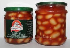 Tasty beans in tomato sauce tinned TM Generous sir
