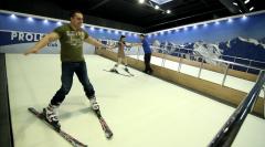 Тренажер горнолыжный PROLESKI, тренажер для лыжников и сноубордистов, лыжный тренажер, аттракцион для помещений