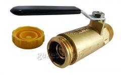 Клапан заливной наполнительный с краном Rego 7501