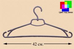 Hangers the extended 42 cm. Polypropylene