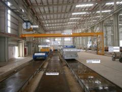 Комплект оборудования для производства пустотных
