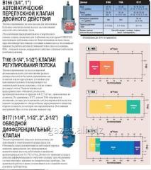 Предохранительный дифференциальный перепускной клапан (байпасс) для АГЗС, ГНС, автоцистерн, газопроводов. Байпас, В166, Т 166, Коркен, Corken. Купить в Украине, киеве.