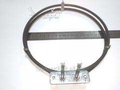 Круглый ТЭН вентилятора для электрической духовки Электролюкс, Занусси (Electrolux, Zanussi), мощность 2400 Вт / 230 В.