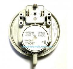 Прессостат дыма Huba Control 65/50 Pa на котлы