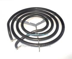 Spiral for heating devices