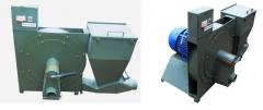 Пневматические всасывающе-нагнетающие зернодробилки ПД-7.5, ПД-11, ПД-15, ПД-18.5, ПД-22