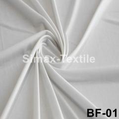 Бифлекс, с блеском, стрейчевая ткань, Код: ВF-01 Белый