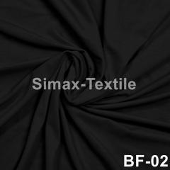 Бифлекс, с блеском, стрейчевая ткань, Код: ВF-02 Черный