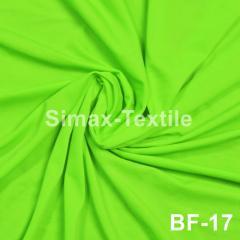 Бифлекс, с блеском, стрейчевая ткань, Код: ВF-17 Салатовый