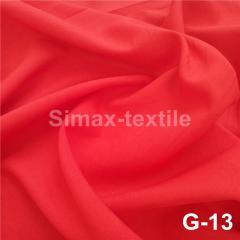 Габардиновая ткань, Код: G-13 Красный