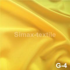 Габардиновая ткань, Код: G-4 Желтый