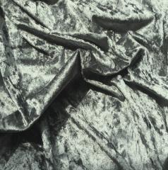 Ткань велюр для одежды, Код: А-2 Мрамор мышиный
