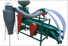 Грече-просо-рушка - установка для производства гречневой крупы и пшена