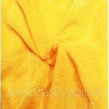 Ткань велюр стрейч, бархат, Код: BY-16 Желтый