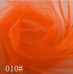 Ткань фатин жесткий, Код: 010 Оранжевый