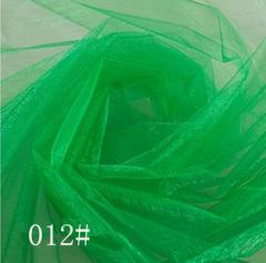 Ткань фатин жесткий, Код: 012 Зеленый