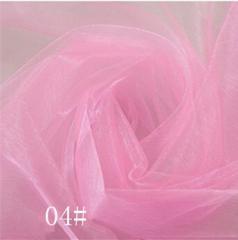 Ткань фатин жесткий, Код: 04 Розовый