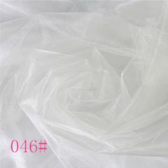 Ткань фатин жесткий, Код: 046 Белый