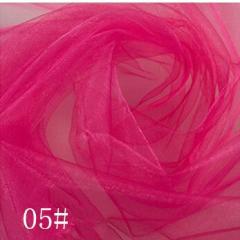 Ткань фатин жесткий, Код: 05 Фуксия