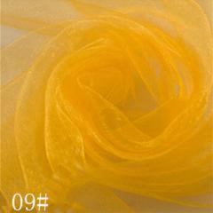 Ткань фатин жесткий, Код: 09 Светлое золото