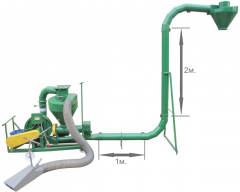 Пневматические транспортеры пневмопогрузчики зерна ПТЗ