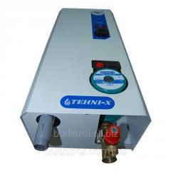 Электрический котел Tehni-x КЭТ 12 кВт Премиум  (220/380 В), настенного монтажа в строенным циркуляционным насосом
