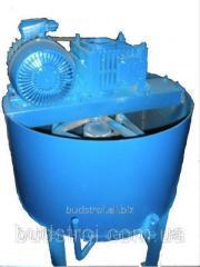 Бетоносмесители, растворосмесители БСП 300 литров принудительного действия.