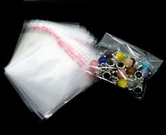 Polypropylene package with valve and tape for