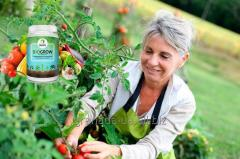 Ecogrowth factor of plants of BioGrow...