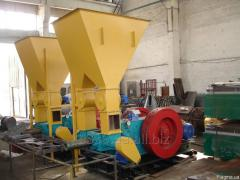 Press with great dispatch mechanical V-80 (2 presses) of 400-1000 kg/h