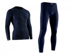 Спортивное мужское термобелье Tervel COMFORTLINE темно-синее
