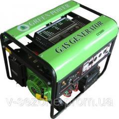 Генератор газовый greenPower CC5000 LPG/NG-Т2