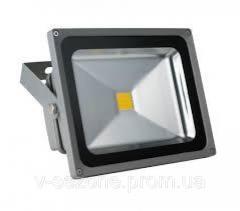 Прожектор светодиодный LED 50w 6500K IP65 Lemanso серый