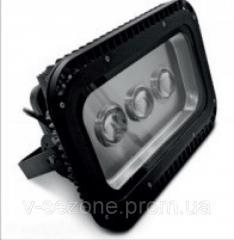 Прожектор светодиодный LED 150w 3LED 6500K IP65 Lemanso чёрный