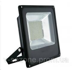 Прожектор светодиодный плоский slim SMD LED 10w 6500K 900lm 180? IP65 Ledex Premium