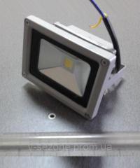 Прожектор светодиодный LED 10W 6000 IP65 220W серый