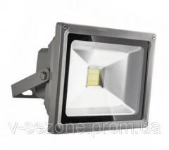 Прожектор светодиодный LED 30W 6000 IP65 220W серый