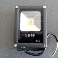 Прожектор светодиодный плоский slim SMD LED 10w 6500K IP65