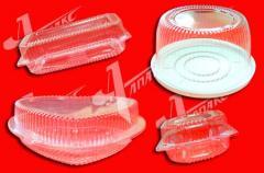 Packaging the blister plastic