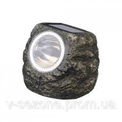 Газонный светильник с солнечной батареей, камень Feron E5220