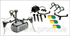 Комплект светильников для пруда 3*20 Вт Messner UWL 1220/5 3-er Set