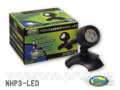 Подсветка для пруда 12v 36 diod NPL3-LED